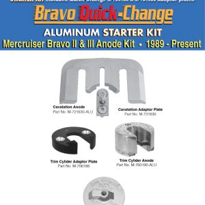 Mercruiser Quick-Change Anodes