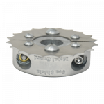 micro limited clearance collar shaft anode