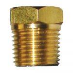 brass plug only pencil zinc anodes