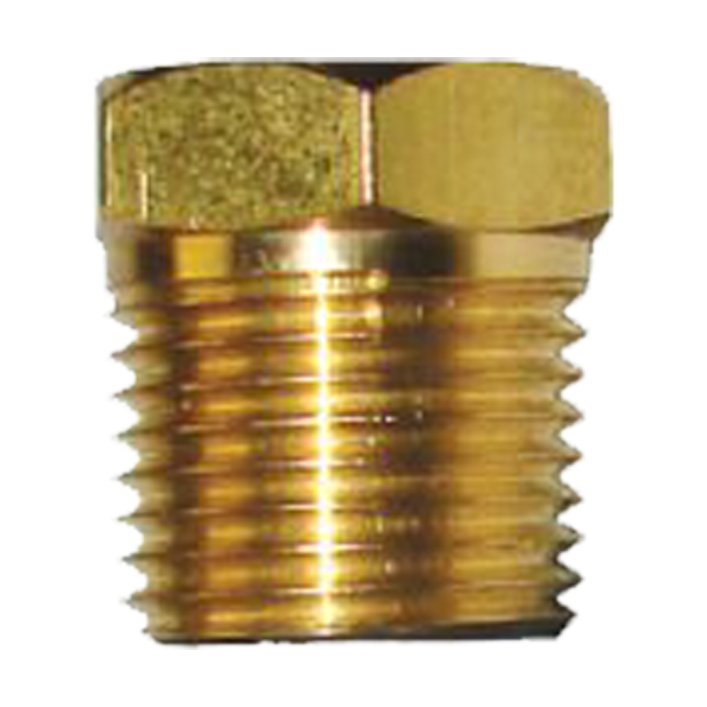brass plug only pencil zinc anodes